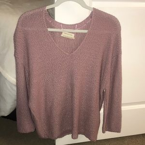 Urban outfitters pink/purple sweater